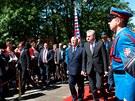 Alexandr II. a prezident Tomislav Nikolic (26. května)