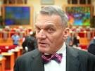 Bohuslav Svoboda během jednání zastupitelstva na pražském magistrátě. (23.