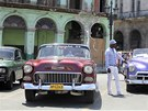 Veteráni na kubánských silnicích