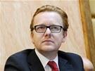 Ministr bez portfeje Petr Mlsna při jednání Ústavního soudu o návrhu na zrušení