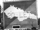 Květen 1938: Snímek z 1. května 1938 odráží vlastenecké cítění Čechů v