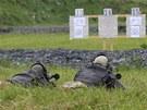 Ukrajinští odstřelovači byli na Libavé snadno k poznání. Díky svým koženým...