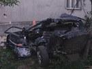 Tragická dopravní nehoda v Uhelné na Jesenicku.