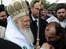 Konstantinopolský patriarcha Bartoloměj, považovaný za nejvyšší autoritu