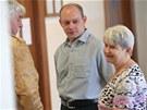 Jaromír Šebesta u Krajského soudu v Ostravě. Soud začal projednávat případ z