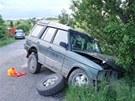 Při nehodě na silnici mezi obcemi  Lažánky a Maršov bylo zraněno 5 lidí, z toho