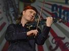 Felix Slová�ek oslavil sedmdesátiny v pra�ské Lucern�, s houslemi dorazil Pavel