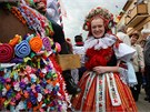 Tradice zapsaná na světový seznam UNESCO představila bohaté kroje.