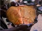 Ne všechny rukopisy se podařilo zachránit. Stovky knih radikálové před svým