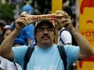 Na poměry ve Venezuele si stěžují i univerzitní profesoři, kteří v Caracasu