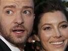 Justin Timberlake a Jessica Bielov� (Cannes, 19. kv�tna 2013)