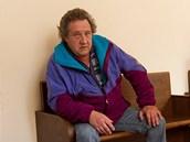 Peter Zieger u Krajsk�ho soudu v Hradci Kr�lov�. (20. 5. 2013)
