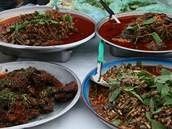 Vyhlá�ené thajské speciality pat�í k nejpáliv�j�ím jídl�m sv�ta.