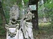Tady rád sedával hudební skladatel Bedřich Smetana. Posledních sedm let života...