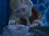 Z filmu Zimní královna