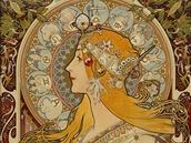Alfons Mucha, La Plume, 1897