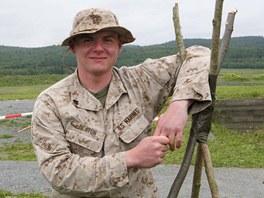 Pravděpodobně jedním z nejmladších byl americký mariňák Justin Deaton. Závody