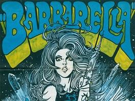 Kája Saudek: plakát k filmu Barbarella