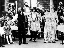 Georges Mélies režíruje své herce