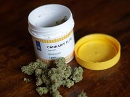 Léčebná marihuana v dóze