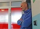 Policie zapežetila kanceláře firmy Metrostav (31. května 2013).