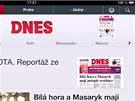Nov� verze aplikace MF DNES pro iPad a iPhone