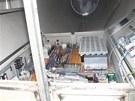 Zloděj ukradl z tubusů větrných elektráren v Albrechticích součástky z drahých