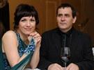 Tereza Kostkov� s man�elem (prosinec 2012)