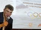 Známý opozičník Boris Němcov upozorňuje na korupci při přípravě olympijských