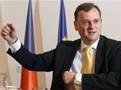 Premiér Petr Nečas během rozhovoru pro MF DNES (31. května 2013)
