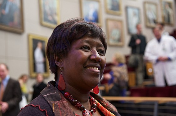 Agnes Binagwahoová, ministryně zdravotnictví Rwandy
