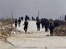 Asadovy jednotky v bojích o město Kusajr (2. června 2013)