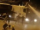 Protivl�dn� protesty v Istanbulu (5. �ervna 2013)