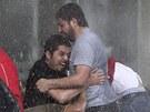 Plný zásah. Turecká policie v Ankaře proti demonstrantům nasadila vodní děla