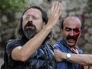 Zranění protivládní demonstranti v  Ankaře (6. června 2013)