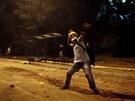 Protesty na Taksimsk�m n�m�st� v Istanbulu pokra�ovaly i v noci z pond�l� na