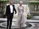 Na svatbě vystoupila řada světoznámých interpretů jako například švédská popová skupina Roxette (na snímku zpěvačka Gun Marie Fredrikssonová s partnerem) nebo kapela Duran Duran.