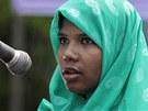 Rešma Begumová, která přežila 17 dní pod troskami zřícené budovy v Dháce,