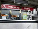 Protipovodňová zábrana u stanice metra Vltavská