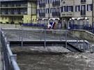 S následky hrozících povodní se potýká i Hřensko (1. června)