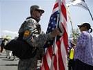 Bradley Manning sloužil v letech 2009-2010 na americké základně v Iráku.