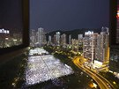 Vzpomínkové akce se koncentrují zejména do Hong Kongu, tam do ulici vyšlo
