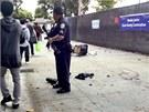 Policie útočníka zastřelila (7. června)