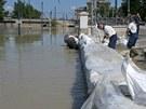 V Budapešti nepolevují ve stavbě protipovodňových zábran(8. června)