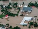 Zaplavené Lovosice (4. června 2013)