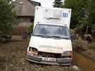 Černošice. 6. 6. 2013. Povodně 2013, velká voda, Berounka, Černošice, Mokropsy