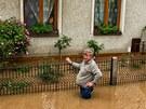 Záplavy v Novém Bydžově.