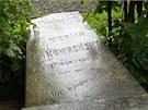 Na jihlavském ústředním hřbitově se rozpadl náhrobek jednoho z
