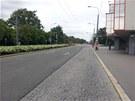 Po pond�ln�m kolapsu dopravy byly pardubick� ulice tak�ka bez aut.