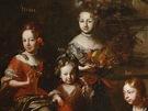 Petr Brandl, Podobizna Ferdinanda, hraběte Hroznaty z Kokořova a jeho rodiny,